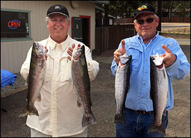 Fun at Shasta Lake Trout Derby