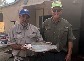 Great Fishing at Shasta Lake Trout Derby